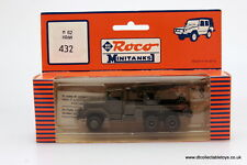 Roco MiniTanks 432 M62 5t. CRANE with RUBBER TYRES HO 1/87 Scale MIB