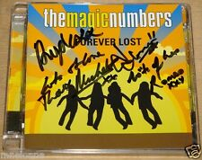 THE MAGIC NUMBERS ~ FOREVER LOST ~ SIGNED UK CD DVD SISTER RAY LONDON 2005