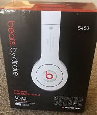 Beats by Dr. Dre Solo Wirless Bluetooth Headband Headphones - White