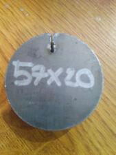 57mm Diameter x 20mm Round Disc Circle Mild Steel Sheet Plate Rings Circle