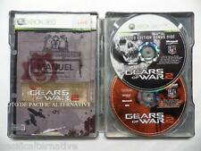 Coffret en métal jeu GEARS OF WAR 2 édition collector STEELBOOK xbox 360 complet