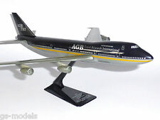 Boeing 747-200 AGB Travel Research 1990's Wooster Desktop Model Scale 1:250