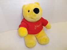 "SEARS DISNEY WINNIE THE POOH PLUSH BEAR W/ SWEATER 18"" EXCELLENT!"