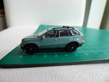 Cararama Detailed 1:72 Mini Bmw X5 Off Road Blue 4x4  Diecast Toy Car 00 Gauge