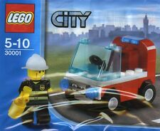 LEGO City #30001 - Pompier + Petit Camion / Fireman's Car - NEUF / NEW - SEALED