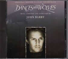 John Barry - Dances With Wolves - Soundtrack - CD (Epic Associated ZK46982 1990)
