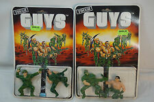 TOUGH GUYS ACTION FIGURES ITM VINTAGE 1987 LOT 2 BIG B CHARGE IT WILD HORSE MIP