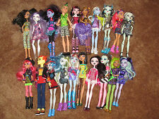 MONSTER HIGH 20 DOLLS LOT DAWN OF DANCE DRACULARA CLAWDEEN FRANKIE BOYS & MORE