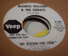 "MAURICE WILLIAMS & THE ZODIACS - FOUR CORNERS 7"" ORIGINAL PROMO"