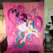 My Little Pony Blanket Comforter Bedspread MLP Friendship Is Magic Twin Full