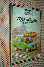1975 VW RABBIT SCIROCCO SERVICE MANUAL SHOP BOOK CLYMERS REPAIR