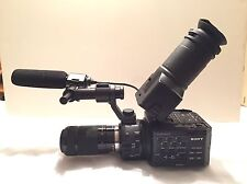 Sony NEX-FS100U Super 35mm Sensor Camcorder, with 55-210mm Lens