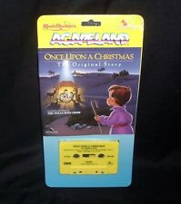 VINTAGE 1987 MUSIC MACHINE ACAPELAND ONCE UPON A CHRISTMAS KIDS CASSETTE TAPE