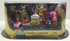 Spongebob Deluxe Collectible Figure Pack Dunces and Dragons Figurine Set New NIP