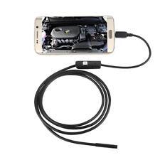 6 LED Impermeabile 1M 7mm Endoscopio Ispezione 2MP Videocamera Per Android PEZZI