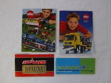 Catalogues Siku 2005 et 2007, Eligor et Majorette 1990 - Petits Formats