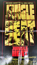 Jungle Heat Movie Poster Folded  One Sheet Movie poster original excellent