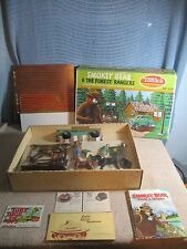 Vintage Tonka 1972 Smokey the Bear and the Forest Rangers Play Set Complete Mint