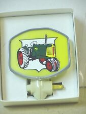 OLIVER 77 TRACTOR , STAINED GLASS NIGHT LIGHT