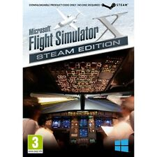 Microsoft Flight Simulator X Steam Edition PC Game Brand New