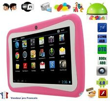 Tablette tactile 7 pouce jeux Educative enfant android wifi google play 4Gb Rose