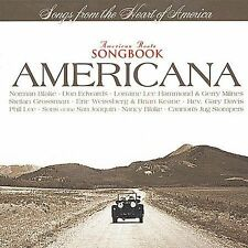 Audio CD American Roots Songbook: Americana  - Various Artists New