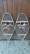 """ANTIQUE Snowshoes 42"""" Long by 15"""" Wide Ready To Hang for Decoration"""