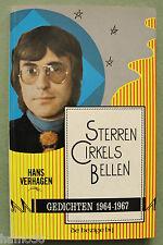 Wim T. Schippers 1968: cover for Verhagen: Sterren Cirkels Bellen; Fluxus design