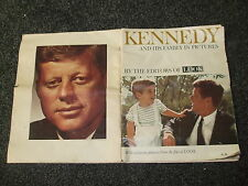 KENNEDY AND HIS FAMILY IN PICTURES MAGAZINE  1963