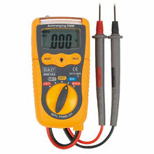 SEALEY MM102 Professional Auto-Ranging Digital Multimeter Voltmeter, Leads/Probe