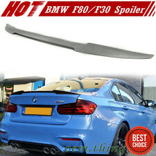 BMW F30 F80 M3 Saloon 3-Series Boot Trunk Spoiler Painted Color 320i