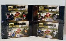 """THE WALKING DEAD LIMITED EDITION SEASON 2 DOG TAGS LOT/ 4 SEALED """"3000""""  MADE"""