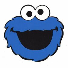 "Cookie Monster Party Decorations - 6"" x 6.25"" Cookie Monster Die Cuts - 2 pieces"
