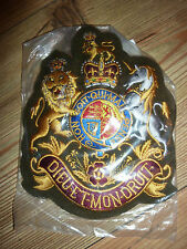 REGIMENTAL SERGEANT MAJOR EMBROIDERED BADGE GENUINE BRITISH ARMY ISSUE NEW