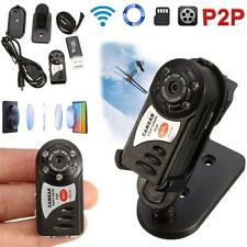 WIFI Mini DV IP Wireless Spy Cam Night Vision Camera Security For Android IOS MT