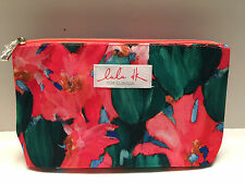 CLINIQUE Floral Cosmetic Makeup Bag Zipper Pouch by Lulu DK