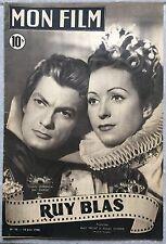 Magazine MON FILM RUY BLAS n°96 Jean Marais DANIELLE DARRIEUX 1948 *