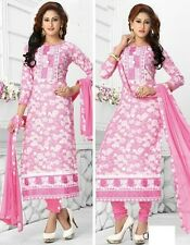Radiant Cotton Embroidered Salwar Suit Dress Material D.NO NKT524