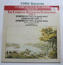 CR 112 - BEETHOVEN - Symphonies No 6 7 & 8 BLOMSTEDT - Ex Con Double LP Record