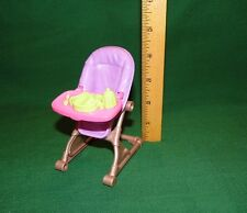 Fisher Price Loving Family Dollhouse - High Chair Purple Brown 2012