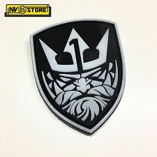 Patch in PVC Nettuno Team 1 NAVY SEALS BK 7 x 8,5 cm Militare Softair con Velcro