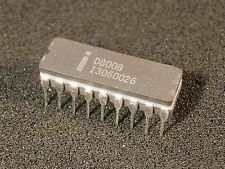 Vintage Intel D8008 Microprocessor 1st 8-Bit CPU Grey Ceramic Guaranteed Working
