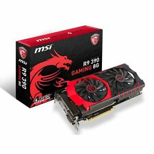 MSI AMD R9 390 GAMING GRAPHICS CARD 8GB GDDR5 512-BIT TWIN FROZR V 6100MHz 2xDVI