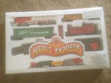 New Bachmann HO Scale Harris Express Electric Train Set-  factory sealed