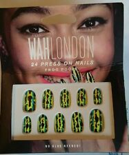 Wah London 24 Press On Nails Frog Poole Limited Edition Halloween Party BNIB