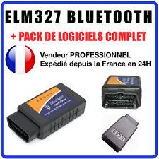 Câble / Interface ELM 327 BLUETOOTH - Diagnostique AUTO - LOGICIEL EN FRANCAIS