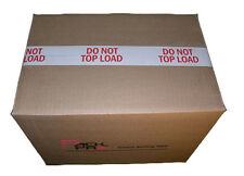 """DO NOT TOP LOAD Preprinted Packing Tape 2"""" x110 yards (9 Rolls)"""