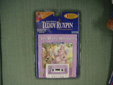 NEW 1998 YES! ENT. TEDDY RUXPIN, THE WOOLY WHAT'S IT, BOOK & CASSETTE TAPE