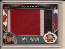 JULIEN NANTEL 2015-16 LEAF ITG HEROES & PROSPECTS GAME USED PATCH /3