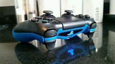 PS4 PS3 ELITE PRO COMPETITION LEGAL RAPID FIRE CONTROLLER WITH BLUE COATED GRIP